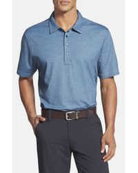 Travis Mathew | Blue 'Crenshaw' Golf Polo for Men | Lyst
