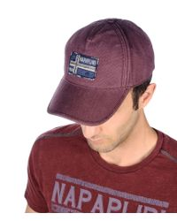 Napapijri | Purple Hat for Men | Lyst