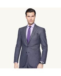 Ralph Lauren Black Label - Blue Pin Dot Anthony Suit for Men - Lyst
