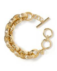 Banana Republic | Metallic Gold Link Bracelet | Lyst