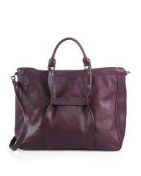 Longchamp - Purple Large 3d Tote - Lyst