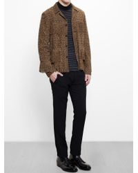 Saint Laurent - Black Suede Western Jacket for Men - Lyst