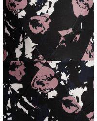 Minimum Blue Theodora Floral Print Dress