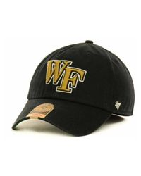 47 Brand | Black Wake Forest Demon Deacons Ncaa '47 Franchise Cap for Men | Lyst