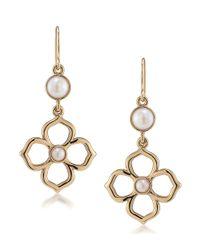 Carolee | Metallic Fashion Ave Double Drop Earrings | Lyst