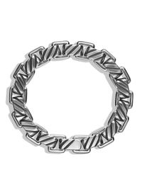 David Yurman - Metallic Modern Cable Empire Link Bracelet for Men - Lyst