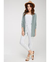 Forever 21 | Green Contemporary Classic Knit Cardigan | Lyst
