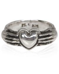 Pamela Love - Metallic Silver Aeternum Ring - Lyst