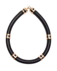 Lizzie Fortunato | Black Double-take Necklace | Lyst
