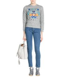 Carven - Cropped Skinny Jeans - Blue - Lyst