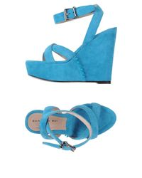 Barbara Bui - Blue Sandals - Lyst