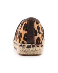 Tory Burch Multicolor Mckenzie Espadrilles Ocelot Leopardcoconut