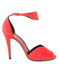 Pierre Hardy - Red 'arletty' Sandals - Lyst