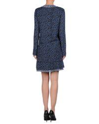 Proenza Schouler | Black Short Dress | Lyst