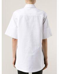 Proenza Schouler White Boxy Shirt