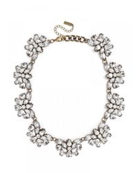 BaubleBar | White Crystal Flutter Collar-clear | Lyst