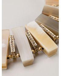 Marni   Metallic Horn Necklace   Lyst