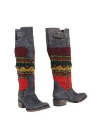 Freebird - Multicolor Boots - Lyst