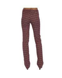 Pinko | Purple Trouser | Lyst