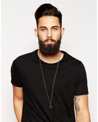 Simon Carter - Black Antique Finish Claw Necklace Exclusive To Asos for Men - Lyst