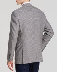 Hart Schaffner Marx Blue Platinum Label Shepherd Check Sport Coat - Classic Fit for men