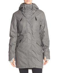 Bench Gray Tara LV Water-Resistant Parka Jacket