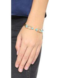 Alexis Bittar | Blue Spiked Crystal Bracelet | Lyst