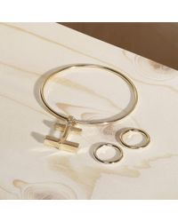 Paul Smith - Metallic Women's Sterling Silver Ring With Gold Plating - Lyst