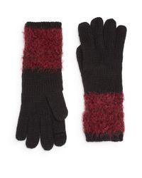 Calvin Klein | Red Arm Warmer Gloves | Lyst