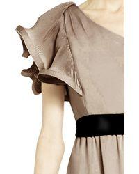 BCBGMAXAZRIA - Multicolor Mel One-shoulder Long-length Dress - Lyst