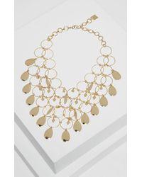 BCBGMAXAZRIA | Metallic Charm Link Necklace | Lyst