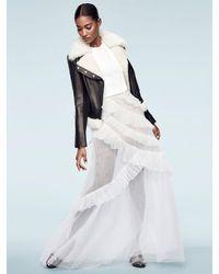 BCBGMAXAZRIA Multicolor Avalon Open-back Gown