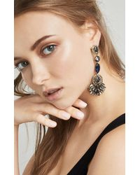 BCBGMAXAZRIA - Natural Drop Evening Stone Earring - Lyst