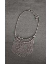 BCBGMAXAZRIA Multicolor Bcbg Chain Necklace
