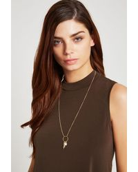 BCBGeneration - Metallic Blessed Long Necklace - Lyst