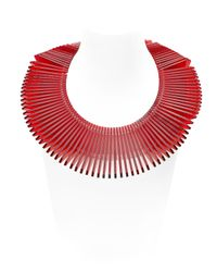 Sarah Angold Studio - Red Special Edition Diaflo Necklace - Lyst
