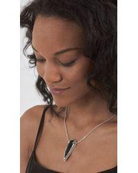 Pamela Love | Metallic Arrowhead Pendant | Lyst