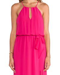 Rory Beca Purple Sevona Dress