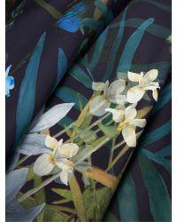 Ted Baker Black Caprine Twilight Floral Skirt Dress