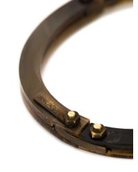 Cedric Jacquemyn | Brown 'zinave' Bracelet for Men | Lyst