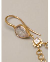 Marie-hélène De Taillac - Metallic Triangle Earrings - Lyst
