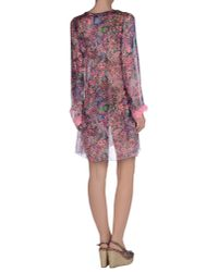 Blumarine   Pink Cover-up   Lyst
