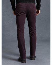John Varvatos - Purple Cotton Bowery Jean for Men - Lyst