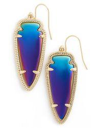 Kendra Scott Blue 'sky Spear' Small Statement Earrings