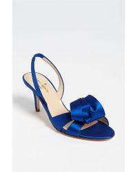 kate spade new york Blue 'madison' Sandal