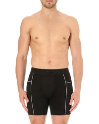 Lacoste | Black Motion Micro-mesh Boxer Briefs for Men | Lyst