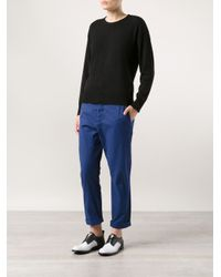 Hope Blue Relaxed Trousers