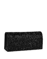 La Regale | Black Pyramid Stud Clutch | Lyst