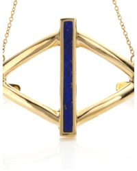 Pamela Love | Metallic Gold Lapis Balance Inlay Handpiece | Lyst