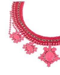 Venessa Arizaga - Pink Crazy For You Necklace - Lyst